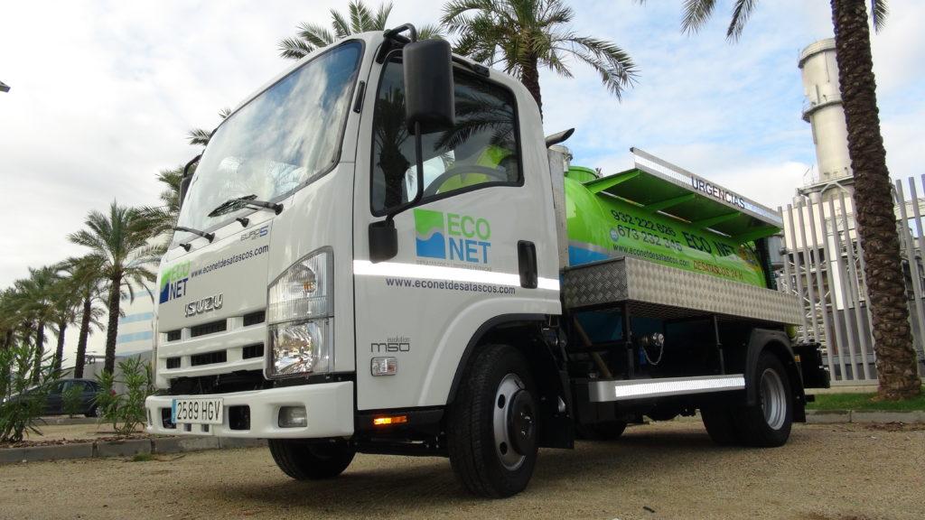 camión desatascos Econet