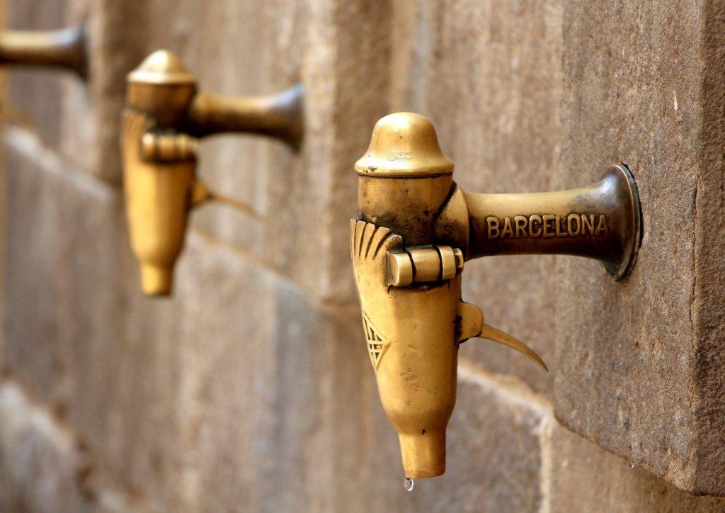 origen del agua de Barcelona